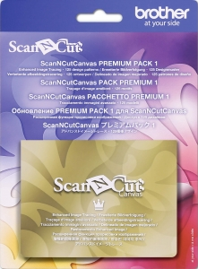 ScanNCut Canvas Premium Pack 1 Brother CACVPPAC1